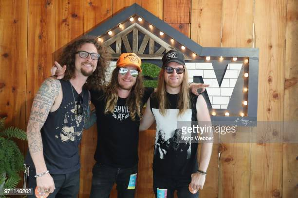The Cadillac Three attend the HGTV Lodge at CMA Music Fest on June 10 2018 in Nashville Tennessee