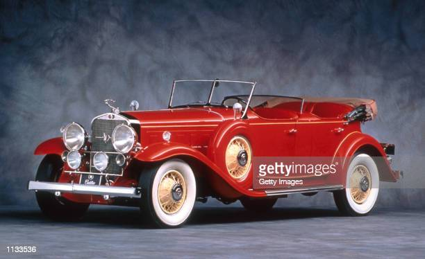 The Cadillac V16 is previewed in this undated photograph on July 18 2002 in Pebble Beach California Maybach and Cadillac have been announced as the...