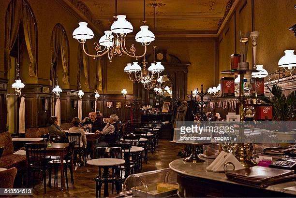 The Café Sperl Gumpendorfer Strasse Vienna 6 Mariahilf 2009 Photograph by Urs Schweitzer