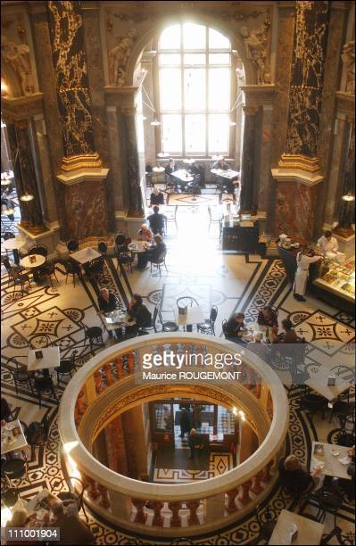 The cafe at the Kunsthistorisches fineart museum in Vienna Austria in 2004