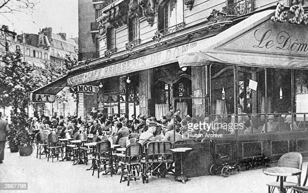 The Cafe Brasserie du Dome Montparnasse Paris