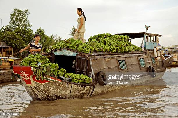The Cai Rang Floating Market is the largest floating market in the Mekong Delta Held early every morning market vendors have a vast variety of...