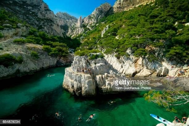 The Calanque de Sugiton, Marseille, Bouches du Rhone, France