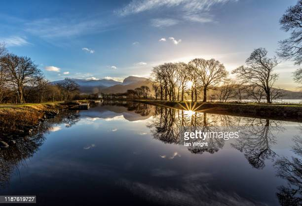 the caledonian canal - grampian scotland stock pictures, royalty-free photos & images