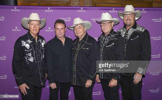 The California Cowboys attend the 35th Annual Alzheimer's Association Rita Hayworth Gala at Cipriani 42nd Street on October 23 2018 in New York City