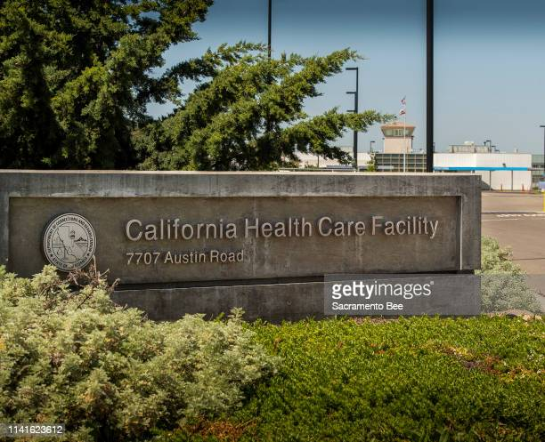 The California Health Care Facility, a prison hospital in south Stockton, Calif., houses about 2,600 inmates, on May 2, 2019. A patient at the prison...