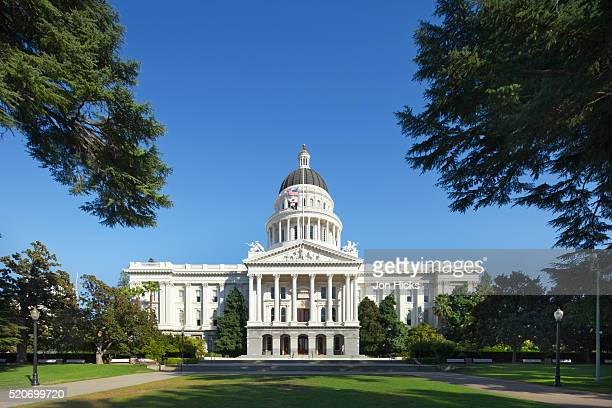 the california state capitol. - sacramento stock pictures, royalty-free photos & images