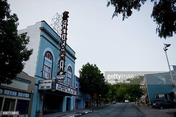 The California Theatre in Dunsmuir, Calif.