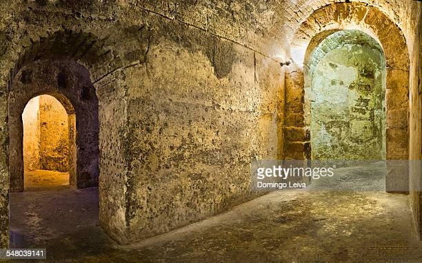 The Caliphate cistern of La Alcazaba, Almeria