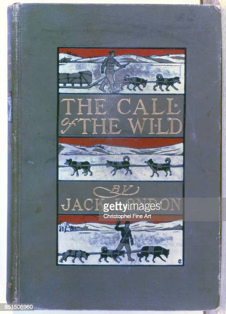 The Call of the Wild by Jack London Book Cover 1903 1903Paris Bibliotheque nationale