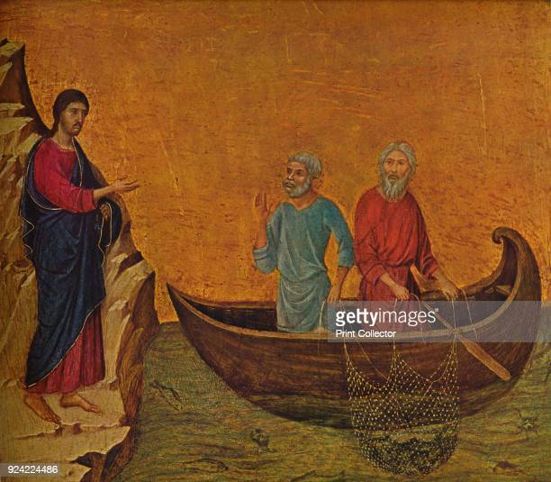 'The Calling of the Apostles Peter and Andrew' 13081311 The painting is part of the Kress Collection National Gallery of Art Washington DC From...