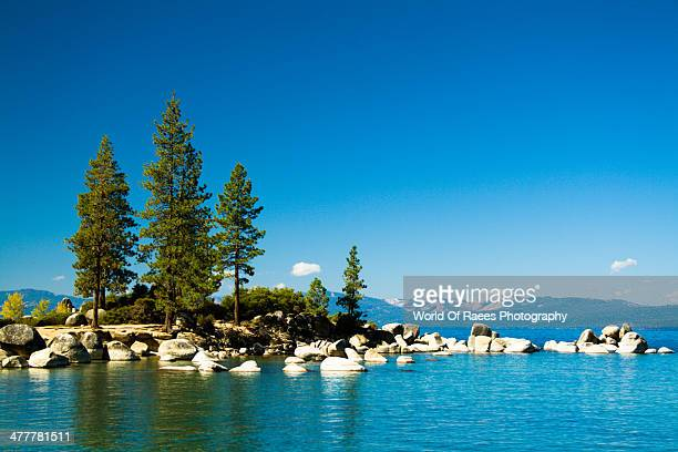 the calm lake tahoe , california - lake tahoe stock photos and pictures