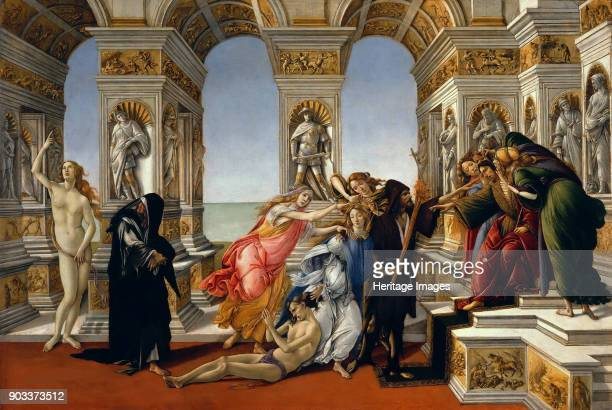 The Calumny of Apelles. Found in the Collection of Galleria degli Uffizi, Florence.