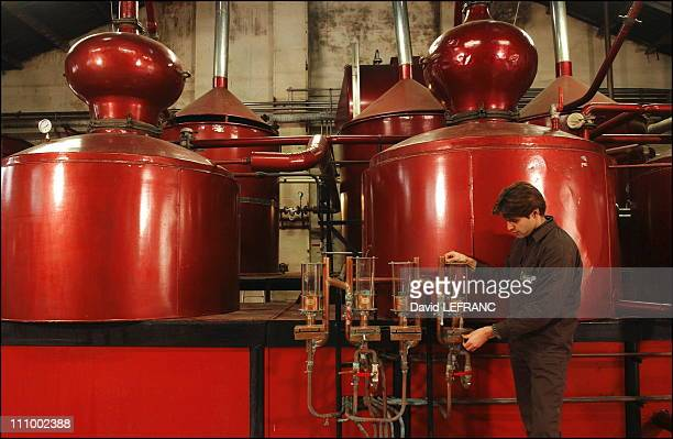 The Calvados brandy in Cormeilles France in November 2004 In 1910 ÔLa Grande Cidrerie Distillerie' was founded in Cormeilles in the heart of the most...
