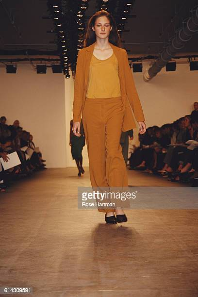 The Calvin Klein Spring/Summer 1999 fashion show in New York City 1998