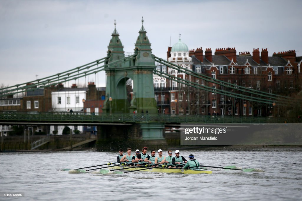 Cambridge University Boat Club v University of London: Boat Race Trials