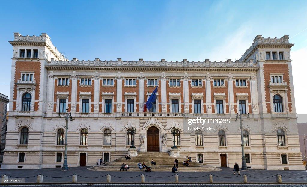 The camera dei deputati is seen on november 1 2017 in for Camera dei deputati roma