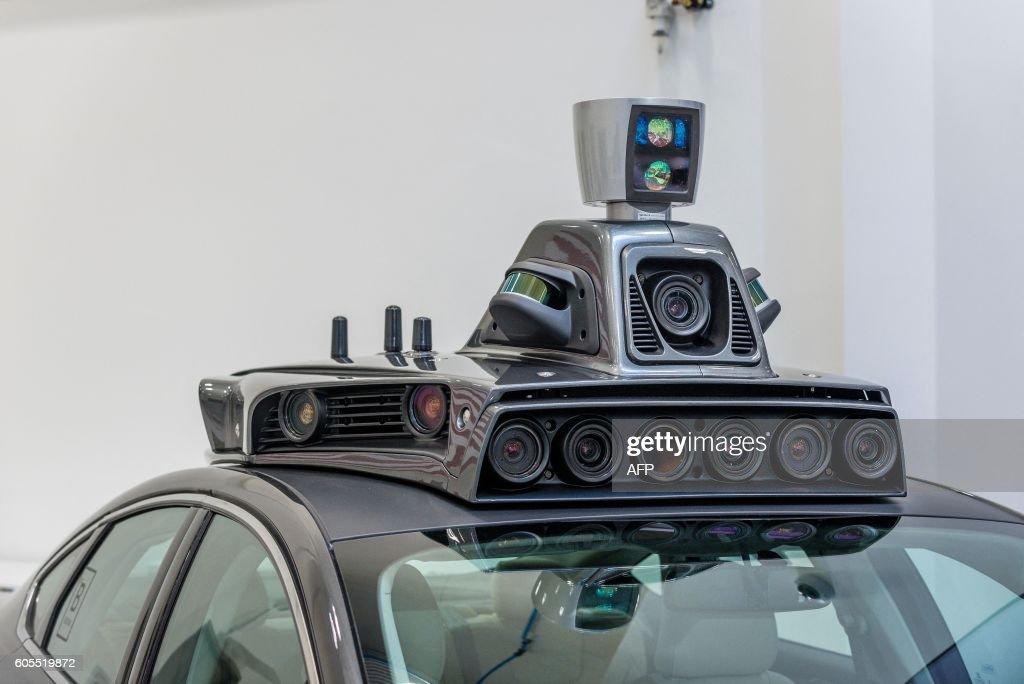 US-TRANSPORT-TECHNOLOGY-UBER-AUTO : Nachrichtenfoto