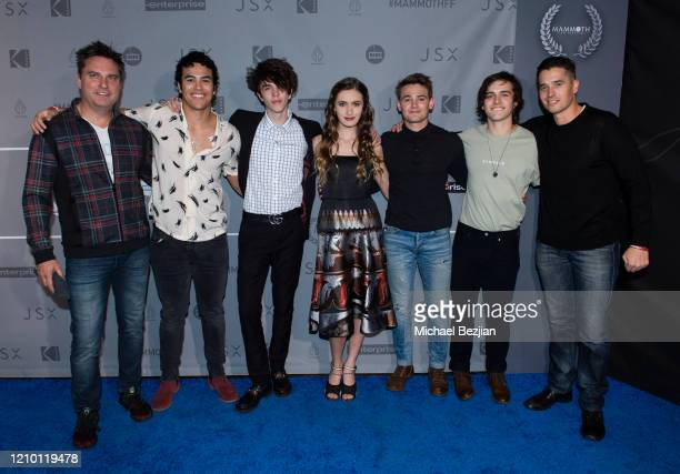 The Cameron Boyce Foundation arrives at 3rd Annual Mammoth Film Festival Red Carpet Monday on March 02 2020 in Mammoth Lakes California