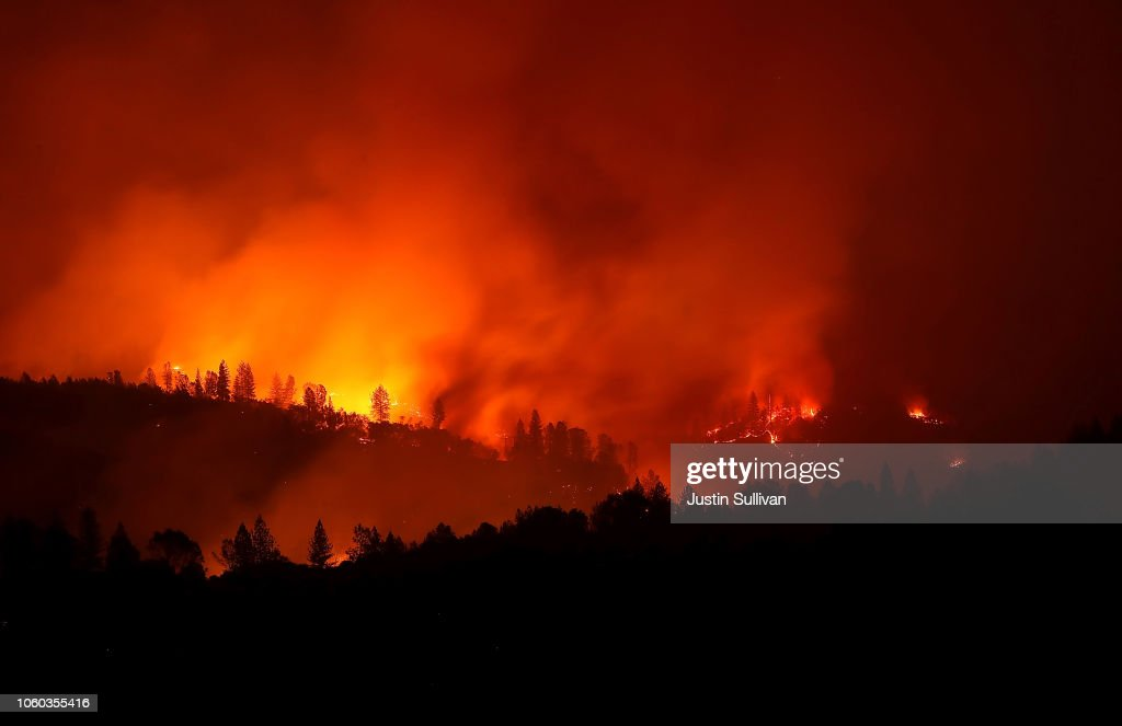 California's Destructive Camp Fire Kills 23, Burns Over 100,000 Acres : News Photo