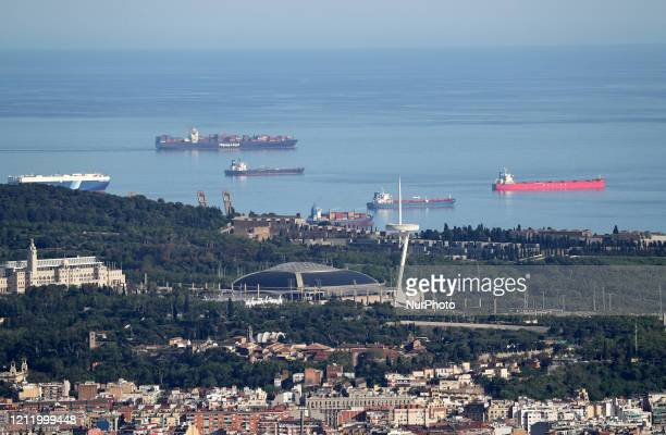 The Camp Nou Stadium Barcelona reaches historic lows in air pollution on 06th May 2020