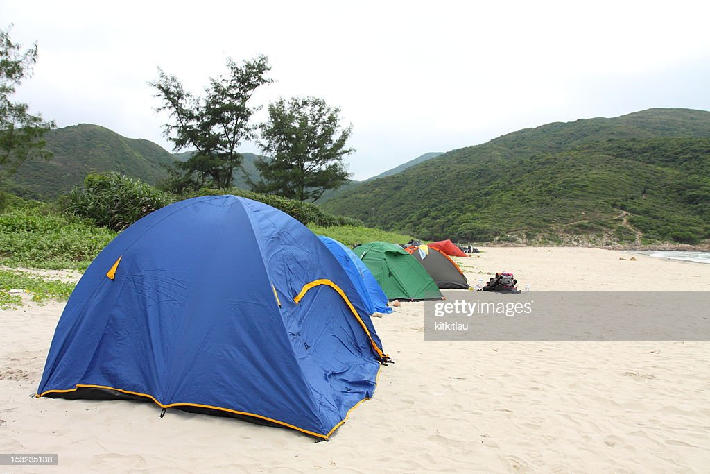 the camp site : Stock Photo