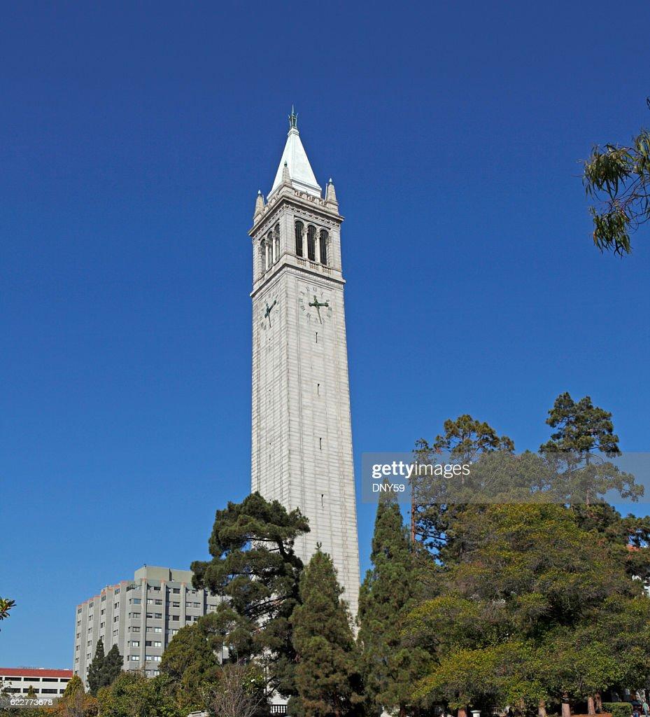 The Campanile At The University of California, Berkeley : Stock Photo