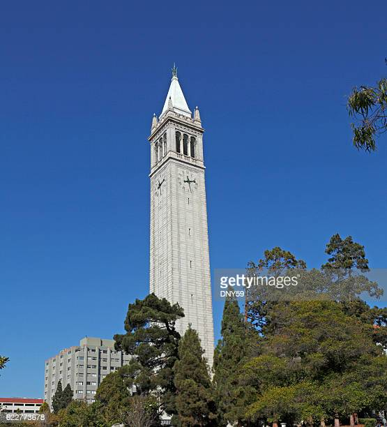 The Campanile At The University of California, Berkeley