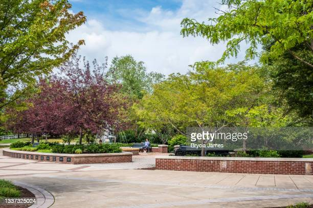 the campus of bloomsburg university - brycia james stock pictures, royalty-free photos & images