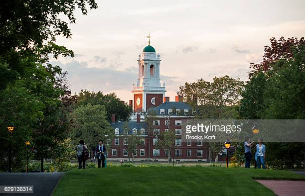 The campus of Harvard Business School and Harvard University July 26 2016 in Boston Massachusetts Harvard one of the most prestigious business...