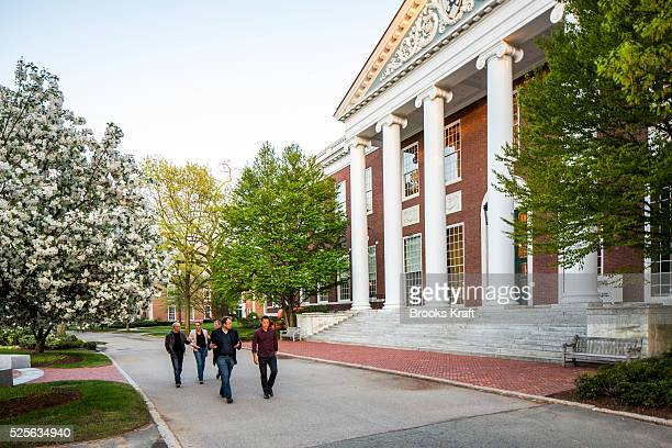 The campus of Harvard Business School the graduate business school of Harvard University in Boston MA HBS is ranked among the top business schools in...