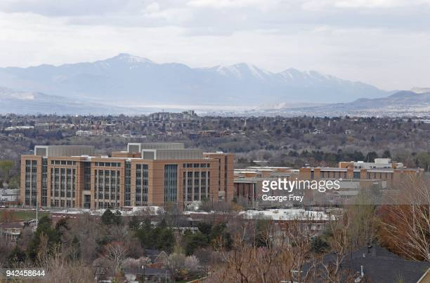 The campus of the Missionary Training Center of the Church of Jesus Christ of LatterDay Saints is shown on April 5 2018 in Provo Utah McKenna Denson...