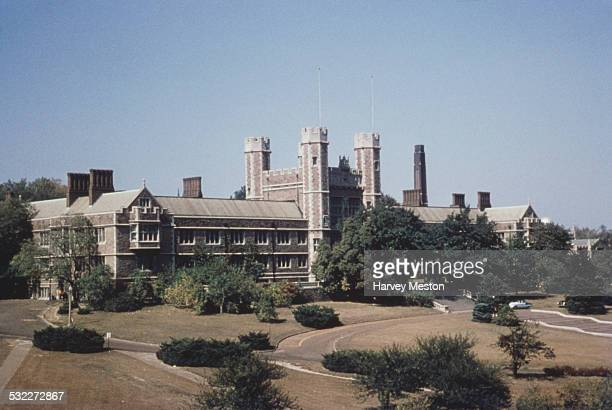 The campus of Washington University in St Louis Missouri USA circa 1960
