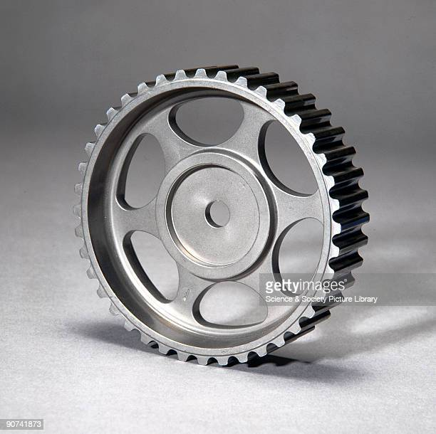 The camshaft pulley needs to be very accurately made and strong as it is used in a motor car Metal powder is dropped into a die and a punch presses...
