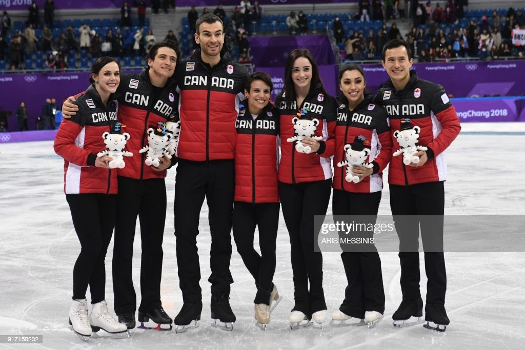FSKATING-OLY-2018-PYEONGCHANG-PODIUM : News Photo
