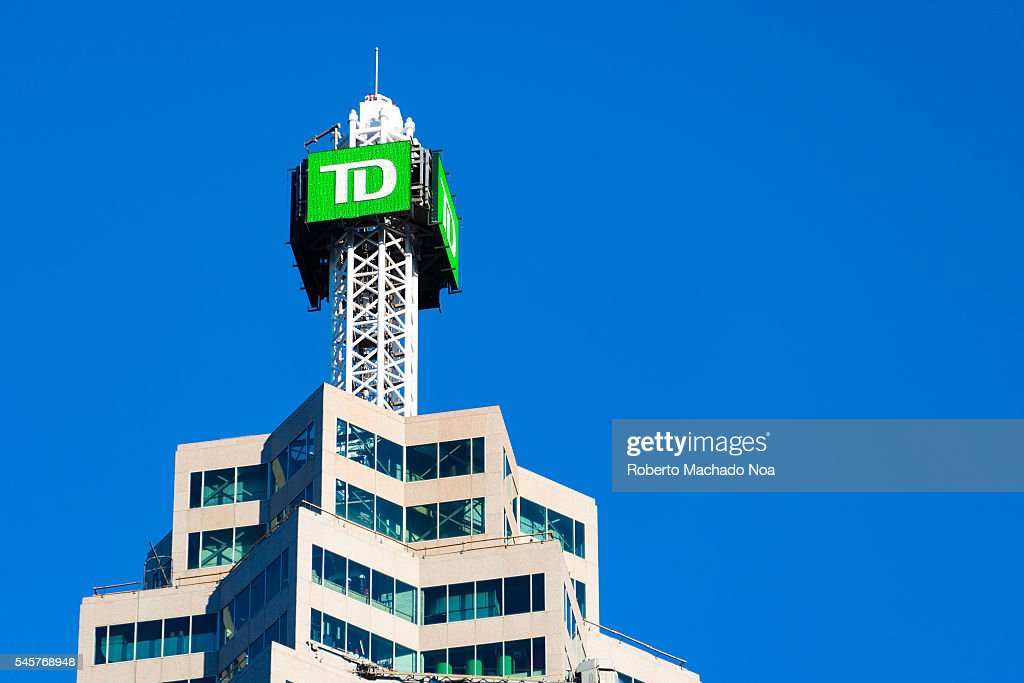 The TD Canada Trust tower on the Brookfield Place