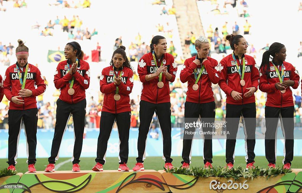 Brazil v Canada Bronze Medal Match: Women's Football - Olympics: Day 14 : News Photo