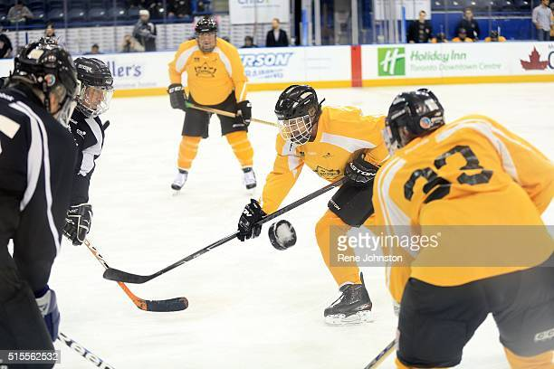 The Canadian Blind Hockey Tournament kicked off today at Ryerson The game is reserved for players who are totally blind or partially sighted It's...