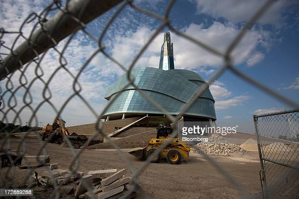 The Canadian Museum for Human Rights stands under construction in Winnipeg Manitoba Canada on Thursday July 4 2013 Canada extended the longest streak...