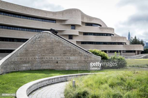 the canadian museum of history, gatineau, canada - gatineau stock pictures, royalty-free photos & images