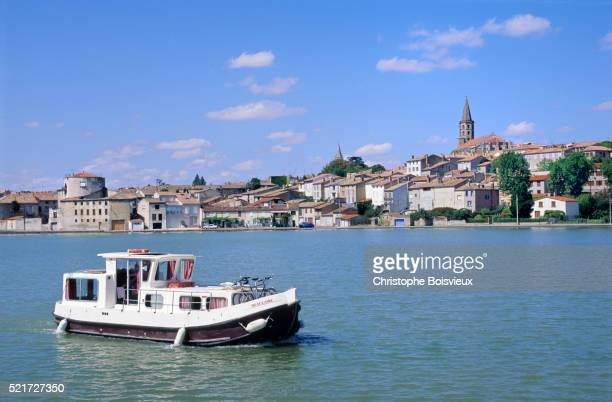 The Canal du Midi at Castelnaudary