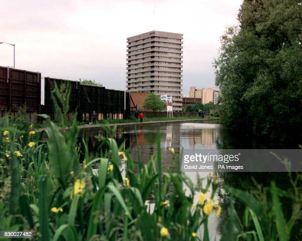 The canal near Foleshill Road Coventry where a 17yearold boy was dumped with his throat slit from ear to ear after being systematically tortured by a...