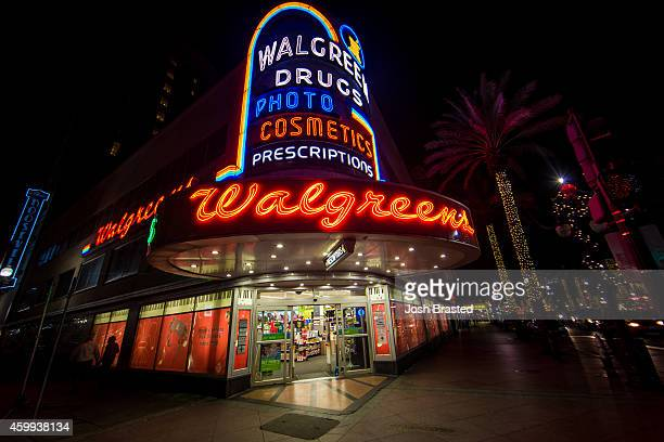 The Canal Street Walgreens is decorated for Christmas on December 3, 2014 in New Orleans, Louisiana.