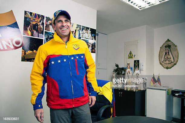 Henrique Capriles - Candidate For Venezuela Presidential Elections