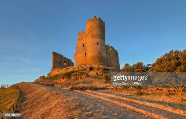 the cannon - province of caltanissetta stock photos and pictures
