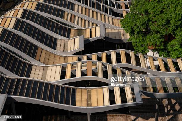 The canopy of the South Beach complex developed by City Developments Ltd. In Singapore, on Tuesday, April 27, 2021. Offices and apartment blocks...
