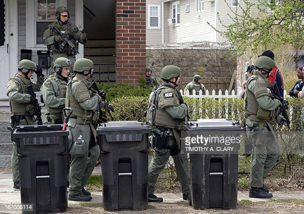 Boston Police Department Swat Team Stock Photos and Pictures | Getty ...