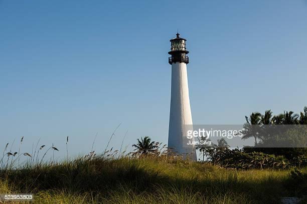 The Cape Florida Lighthouse, Key Biscayne, FL, USA