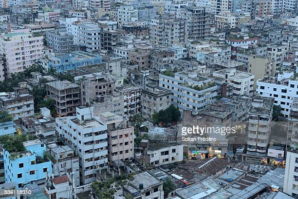 The capital city of Dhaka