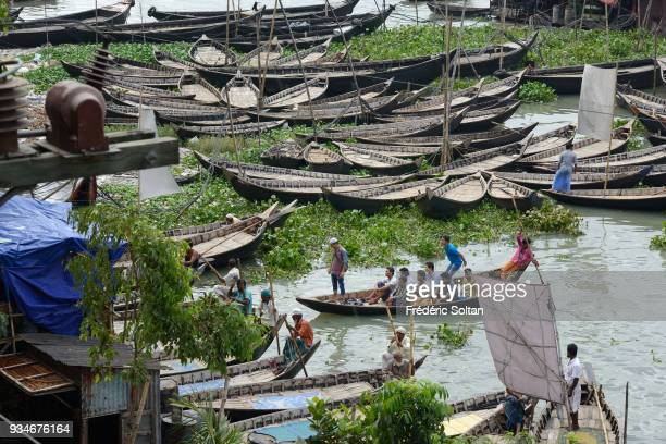 The capital city of Dhaka. Sadarghat Port in the Dhaka City River Front, located in the southern part of Dhaka, on the river Buriganga, is one of the...